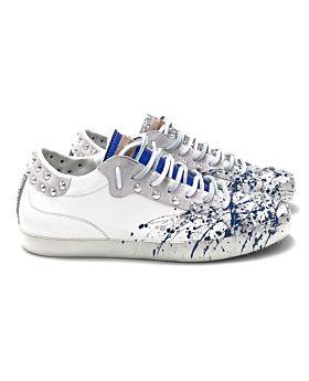 Glitter silver / blue