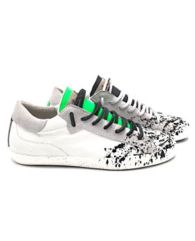Green fluo / Silver