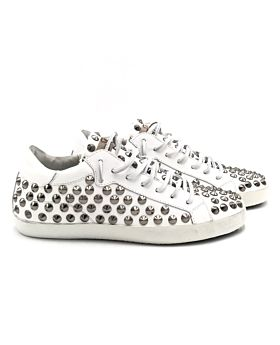 Full studs steel - white