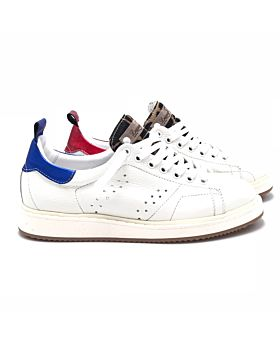 Street - WHITE Giraffa - red/blue