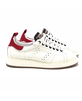 Street - WHITE Dalmata black - red